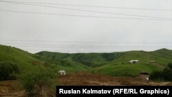 Кыр-Жол айылы, Сузак. (Архивдик сүрөт)