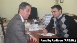Səlim Babullaoğlu və Cavid Zeynallı (sağda)