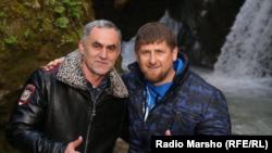 Нажуд Гучыгаў і Рамзан Кадыраў
