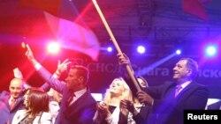 Բոսնիա և Հերցեգովինա – Սերբական Հանրապետության նախագահ Միլորադ Դոդիկը հանրաքվեից հետո, 25-ը սեպտեմբերի, 2016թ․