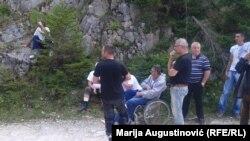 Korićanske stijene, 21. avgust 2016.