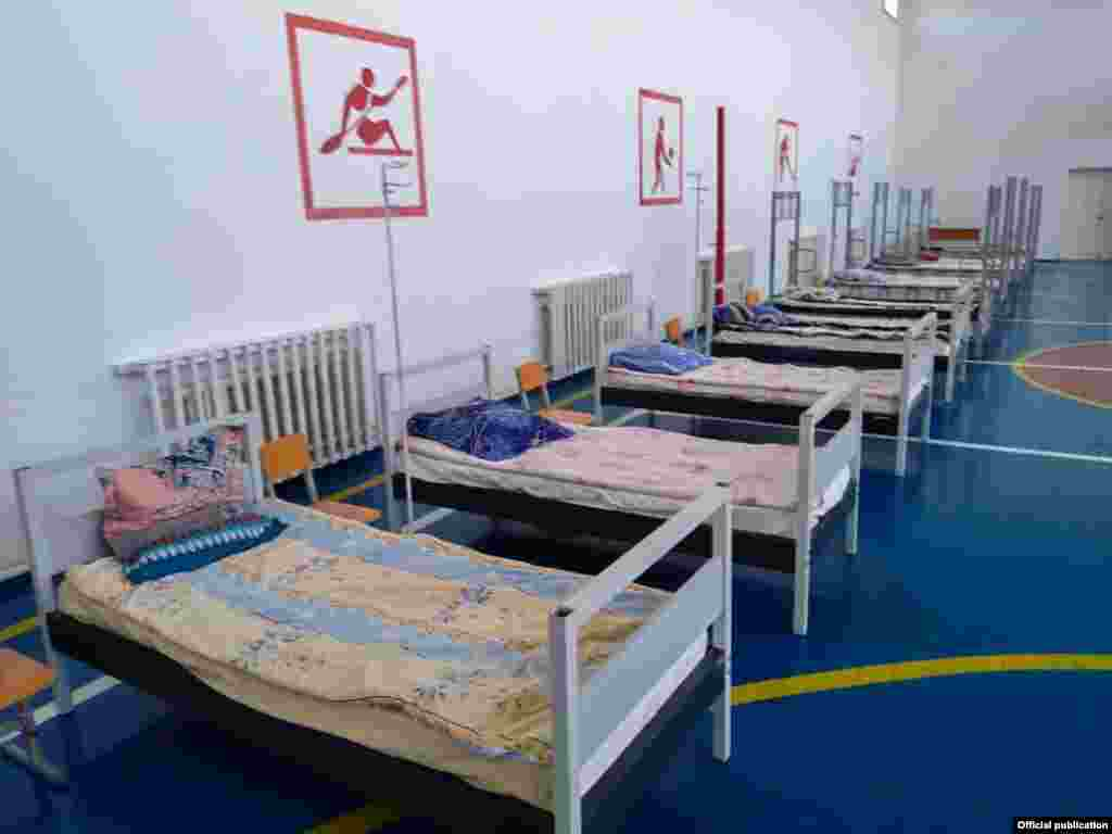 More than 1,300 new beds have been set up in Issyk-Kul.