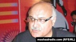 د خیبر پښتونخوا د اطلاعاتو وزیر وزیر میا افتخار حسین