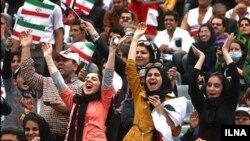 حضور زنان در ورزشگاهها و میادین ورزشی ایران برای تماشای مسابقات پس از انقلاب اسلامی محدود شد