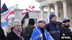 Акция протеста в центре Минска