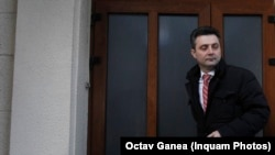 Tiberiu Nițu, fost procuror general, în 2016 când a fost audiat la DNA în calitate de suspect