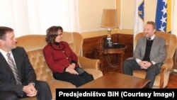 BiH Presidency member Bakir Izetbegović received Ambassador of the United States in Bosnia and Herzegovina Maureen Cormack