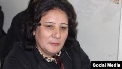Azerbaijan -- opposition activist Gozal Bayramli