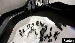 Музей MАХХI в Риме по проекту Захи Хадид