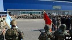 Македонски контигент во Кабул
