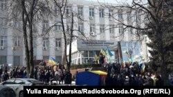 У Дніпрі вимагають відставки начальника обласного управління поліції, 20 лютого 2017 року