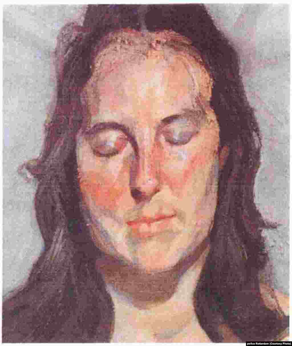 """Woman with Eyes Closed"" by Lucian Freud, 2002"