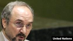 محمد خزایی، نماینده ایران در سازمان ملل