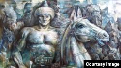 Урал батыр эпосына иллюстрация