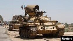 Pamje arkivi të forcave irakiane