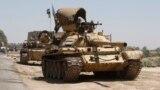 دبابات في مناطق غرب بغداد