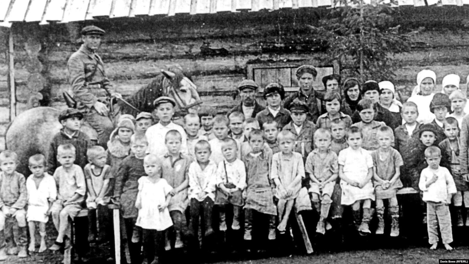 Детские дома в Нарымском округе
