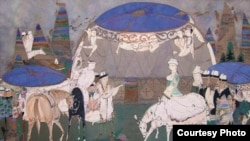 The Work Of Uzbek Artist Lekim Ibragimov
