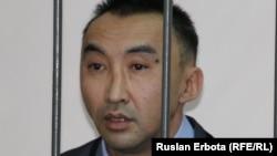 Гражданский активист Болатбек Блялов, обвиняемый в разжигании розни.