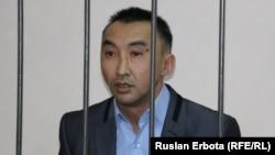 Болатбек Блялов на суде.