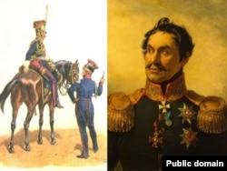 Генэралы Ян Канопка і Яфім Чапліц