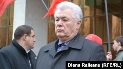 Protest comunist la Chişinău