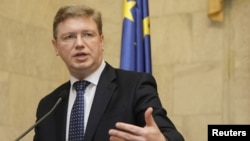 Komisionari për zgjerim i BE-së, Shtefan Fyle - foto arkivi