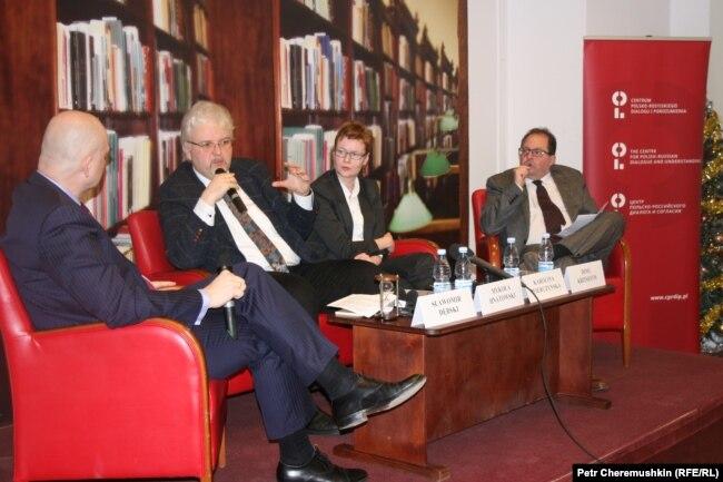 Диалог участников варшавской конференции