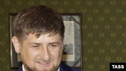 A spokesman decried the reports of Ramzan Kadyrov's connection to the murder case as an attempt to discredit the Chechen leader.