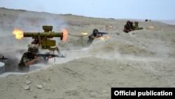 Tank əleyhinə bölmələrin intensiv təlimləri keçirilir