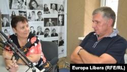 Valentina Ursu, RFE/RL's correspondent in Chisinau, interviews Ion Sturza, former Moldovan prime minister on 21Aug2012