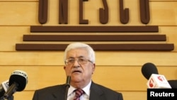 Палестинскиот претседател Махмуд Абас.