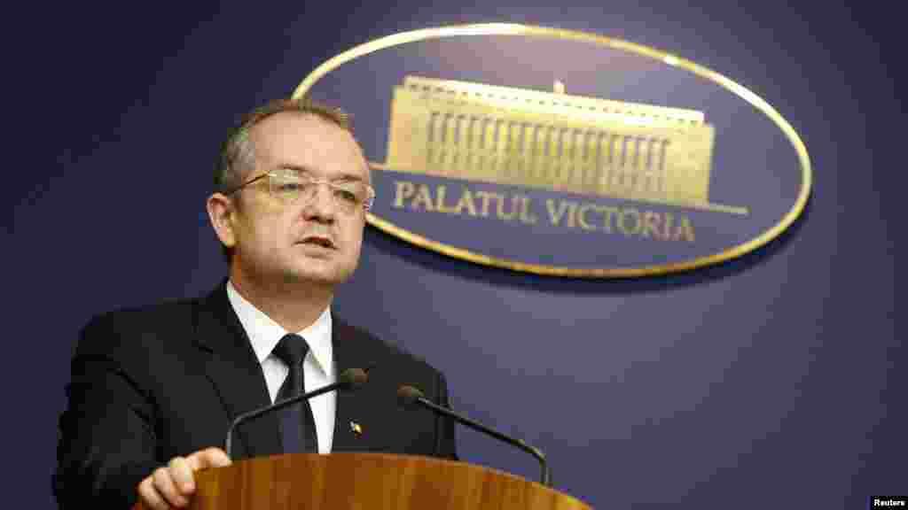Ми не будемо терпiти жодного вуличного насильства – прем'єр-мiнiстр Румунії Емiль Бок
