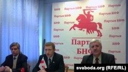 Ігар Лялькоў, Аляксей Янукевіч, Рыгор Кастусёў