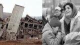 Гюмрі (в радянські часи це місто називалося Ленінакан) за два роки до руйнівного землетрусу. Це друге за величиною місто у Вірменії після Єревана. Більшість будинків в місті були побудовані з унікального матеріалу– червоного туфу
