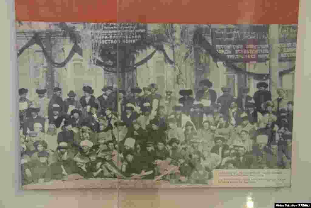 Делегаты конференции Кара-Кыргызской Автономной области в 1925 году.