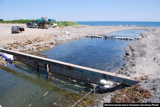 РУЗ на реке Вознесенка, Корсаковский район