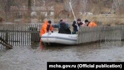 Flooding in Altai Krai