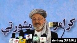محمد کریم خلیلی رهبرحزب وحدت اسلامی افغانستان