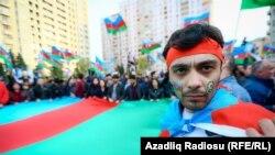 Митинг оппозиции в Баку, 28 октября 2017 года
