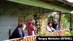Жители деревни Юркостров