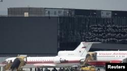 """რუსეთის და აშშ-ის თვითმფრინავები რომელთა მეშვეობით ვენის აეროპორტში """"ჯაშუშების გაცვლის"""" ოპერაცია ჩაატარეს"""