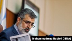 Spokesman of the Atomic Energy Organization of Iran (AEOI), Behruz Kamalvandi, File photo.