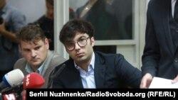 Судове засідання по справі ДТП за участю Шуфрича молодшого. Київ, 30 серпня 2017 року