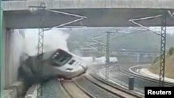 Snimak železničke nesreće