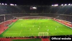 Georgia's Paichadze's national stadium in Tbilisi