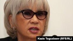 Гүлжан Ерғалиева, guljan.org веб-сайтының бас редакторы. Алматы, 16 сәуір 2012 жыл.