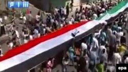 Протести во Хомс на 2 септември 2011 година.