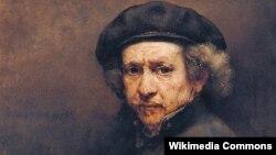 Рембрандт. Автопортрет