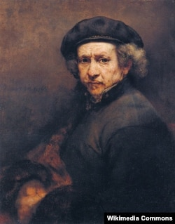 Rembrandt - avtoportret